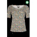 Sac coton turquoise  - Bamboo's fashion