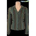 Tee-shirt Caira vert coté en coton bio Ethos