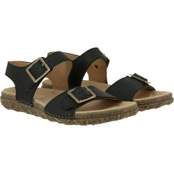 Sandales noir Cuir Made In Romans