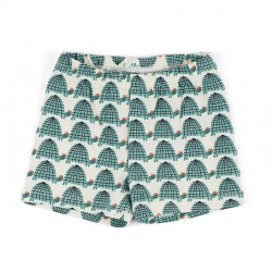 Shorts Tortues en coton bio...