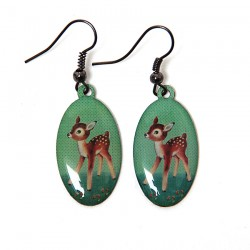 Boucles d'oreilles Bambi...