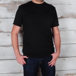T-shirt Tunis Noir en coton...
