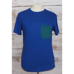 bleu poche verte