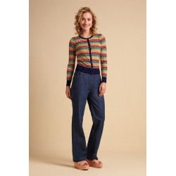 Pantalon Sailor en jeans...