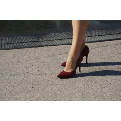 escarpin vertige rouge