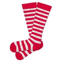 Chaussettes hautes rayées...