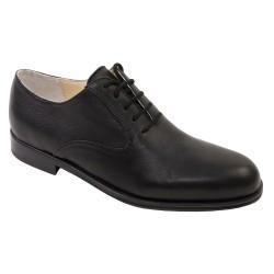richelieu color lacet noir
