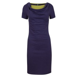 Robe Stine navy en coton...