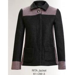 Veste Rita en laine et...