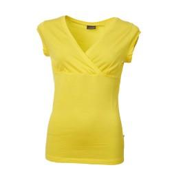 Tee-shirt Fleur jaune en...