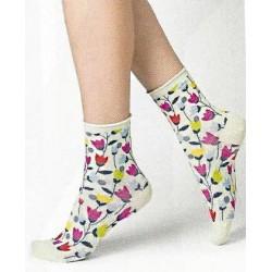 Socquettes veloutées...