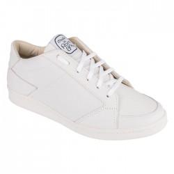 Sneaker en cuir blanc -...