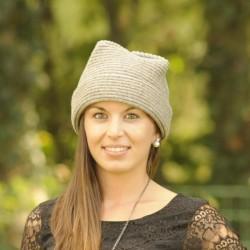 Bonnet femme en pure laine...