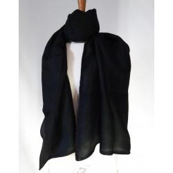 Jupe courte Camilla petrol en coton bio- Tranquillo