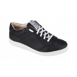 Sneaker en cuir noir - Made...