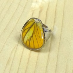 Bague collage papillon -...