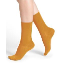 Socquettes veloutées unies...