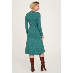 Robe Jersey Leaves en coton...