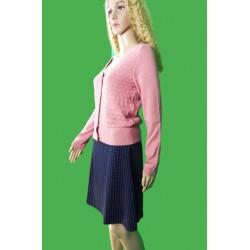 Jupe Long Geo Pink en coton...
