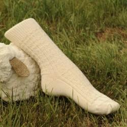 Chaussettes en pure laine...