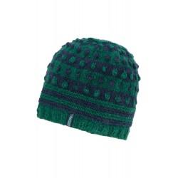 Bonnet en laine bicolore...