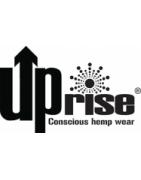 Up Rise, marque flammande de vêtements en chanvre écologiques.