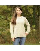Pull et pullover pour femme, bio, équitables, écologiques et éthiques.