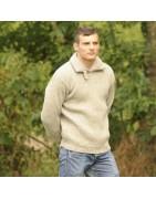 Pull et pullover pour homme, bio, équitables, éthique, en toute saison